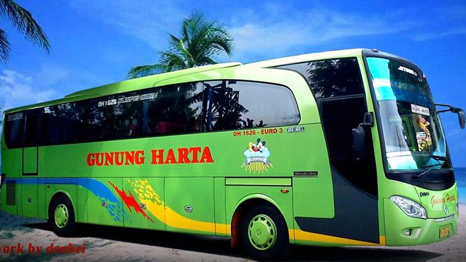 Bus Pariwisata Gunung Harta Malang