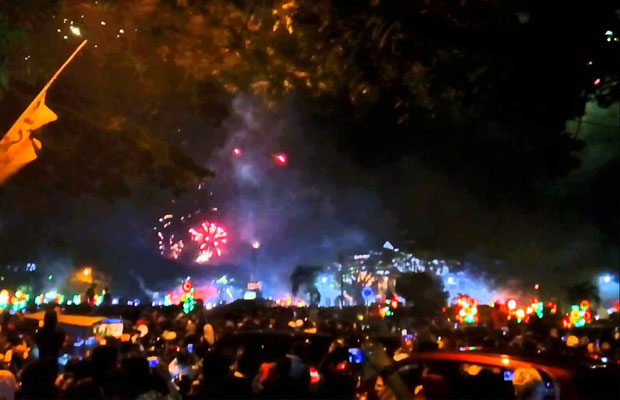 Tahun Baru di Jalan Ijen Malang