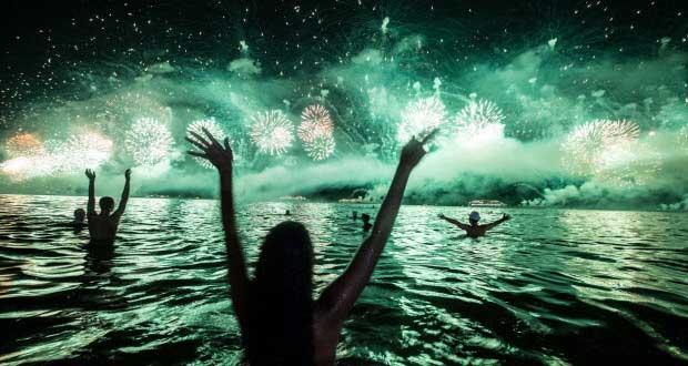 Tahun Baru di Pantai Malang