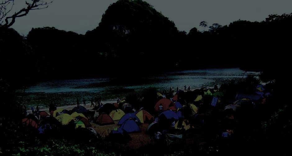 Tahun Baru di Pulau Sempu Malang