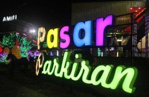 Pasar Parkiran Kota Wisata Batu