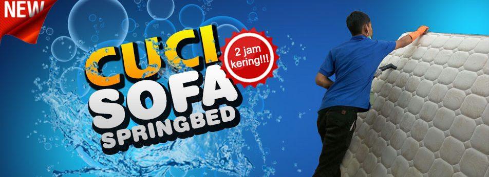 Cuci Sofa Springbed Malang